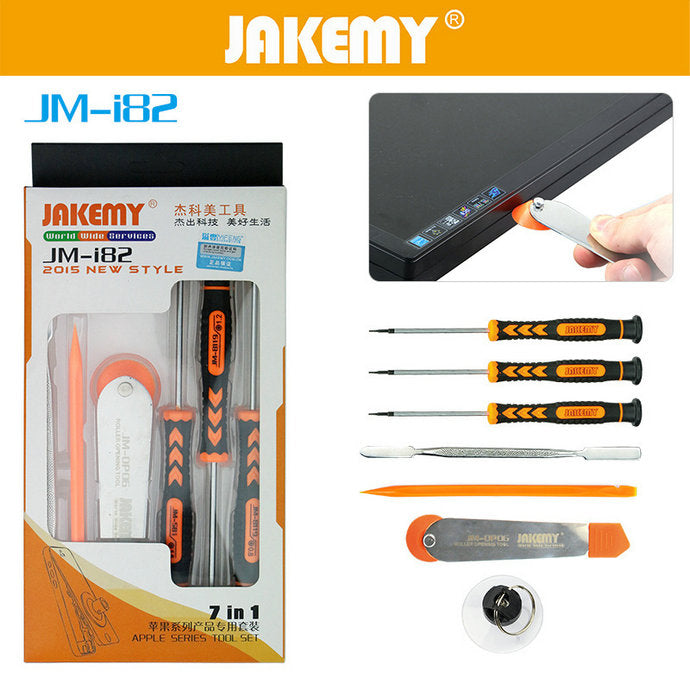 7 in 1 Phone Opening Tool Kit Screwdriver Set for iPhone Hand Tools
