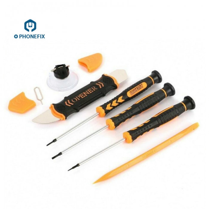 JM-I84 7 in 1 Screwdriver Set Pry Opening Tool for Phone Repair Tool