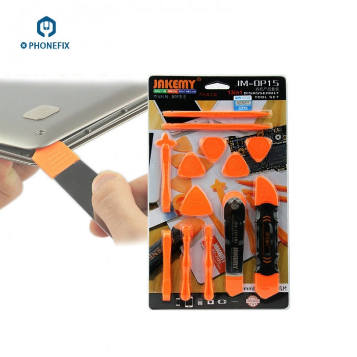 13 IN 1 Opening Tools Safe Crowbar Pry Slices for iPhone Disassembling