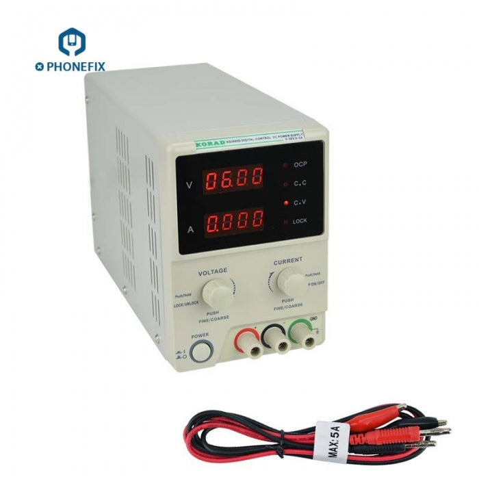 KORAD KD3005D Precision Adjustable DC Power Supply 30V 5A