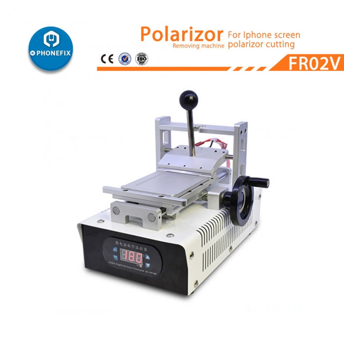 7 inch LCD OCA Glue Removing Machine Polarizer LCD Refurbish Tool