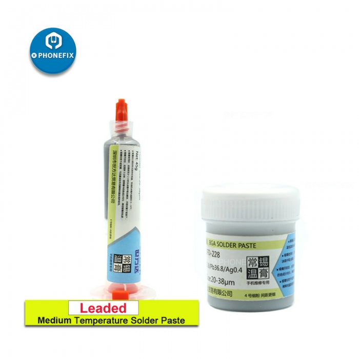 High Temperature Lead-Free Solder Paste for Motherboard Repair