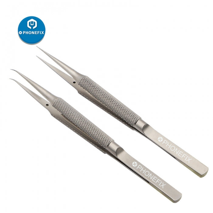 MECHANIC Titanium Alloy Tweezers Phone Fingerprint Repair Tweezers