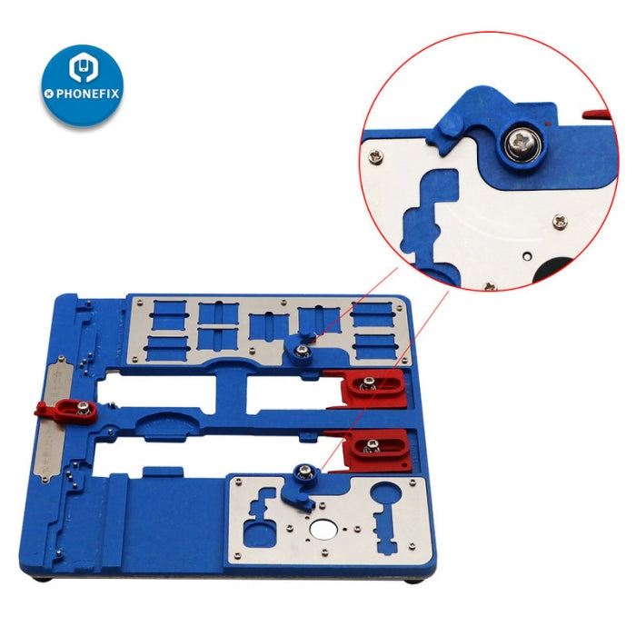 MJ 9 in 1 A22+ iPhone Moterboard Test Holder Fixture for iPhone 5S-XR