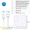 45W 60W 85W MagSafe Power Charger Adapter for MacBook Pro