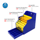 Mechanic Desktop Storage Box for Screwdriver Tweezers Small Parts