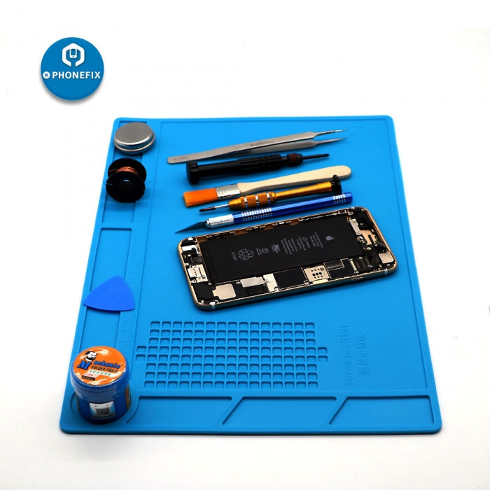 Anti-Static Silicone Mat Advanced ESD Mat For Mobile Phone BGA Repair