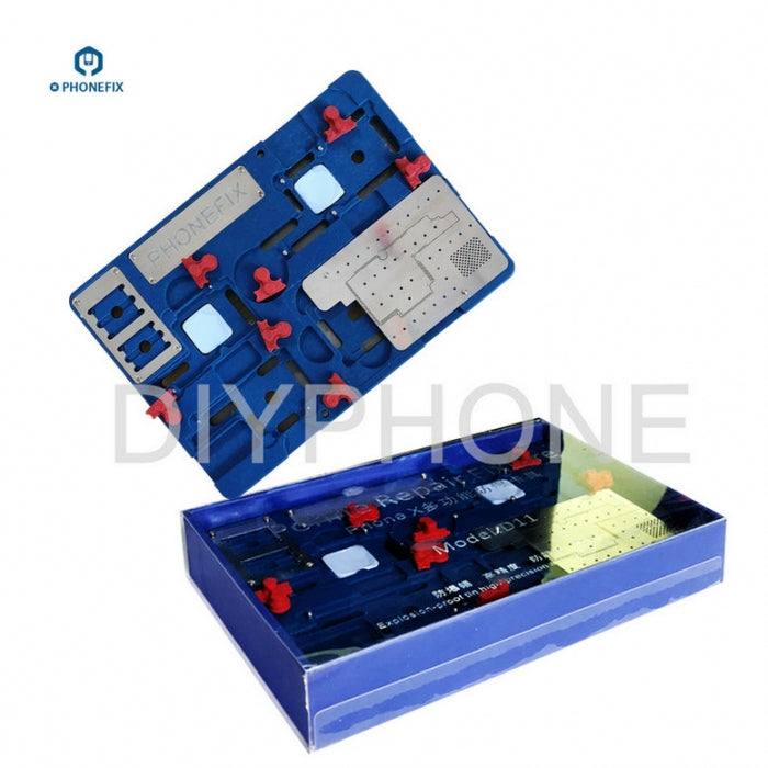 High Temperature iPhone X Motherboard Cooling Soldering Platform