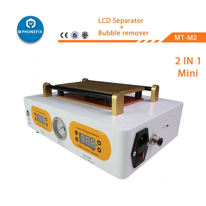 Vacuum Pump LCD Screen Separator OCA Bubble Remover Machine