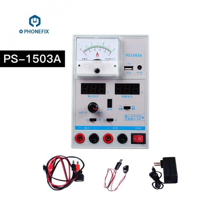 PS-1503A 3A Variable Voltage DC Power Supply For Mobile Phone Repair