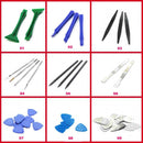 Plastic Spudger Metal Triangle Pry Bar Crowbar for Phone Disassembly