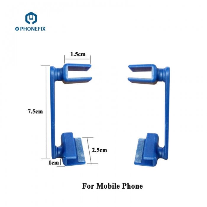 2pcs Plastic Adjustable Fixture Holder for Phone Disassembly Tool