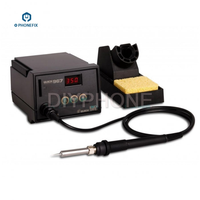 QUICK 967 Soldering Station Anti-Static ESD Soldering Iron Tool