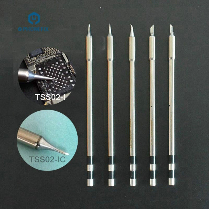 Original Electric Solder Iron Tips for QUICK TS1200A Soldering Station
