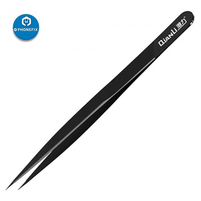 Qianli Handmade Polished Manual Tweezers Stainless Tweezers
