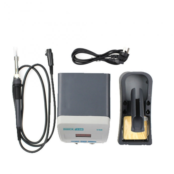 Quick 236 Lead-Free Soldering Iron Station Anti-static 90W 80°C-480°C