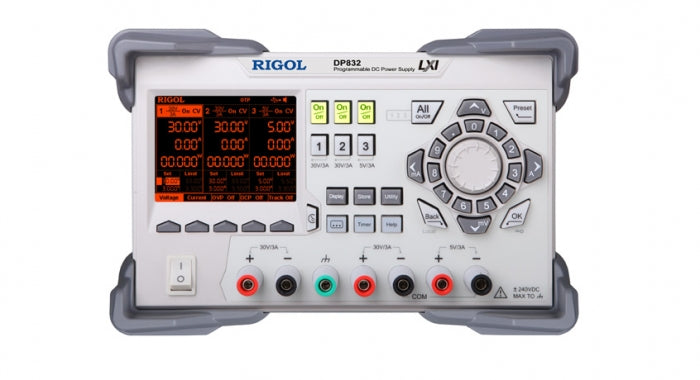 Rigol DP832A Laboratory Programmable DC Power Supply - 3 Channels