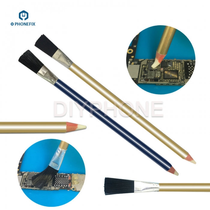 Dual-Use Rust Removing Pen Clean Brush PCB Cleaner Repair Tools