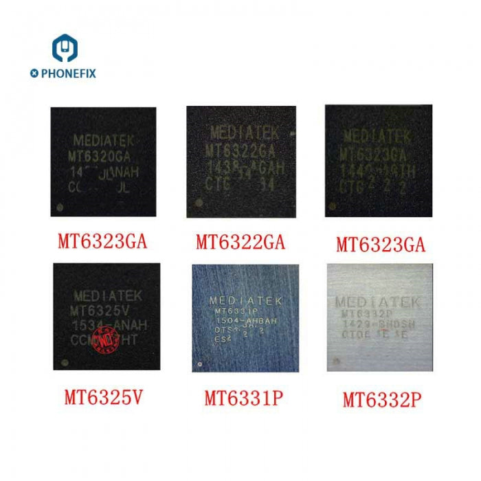 MT6320GA 6323GA 6322GA Baseband Power Supply Switch IC Chip For Xiaomi