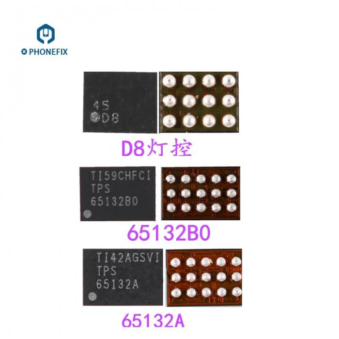 65730A0 Display IC D6 Backlight Control Boost Diode Oppo Phone Repair