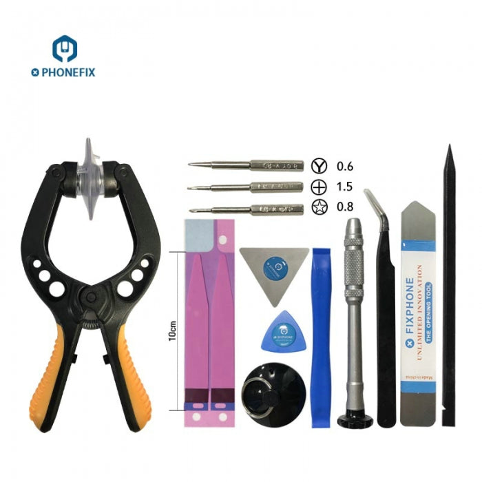 13 in 1 Phone LCD Screen Opening Pliers Crowbar Pry Tools Repair Tool