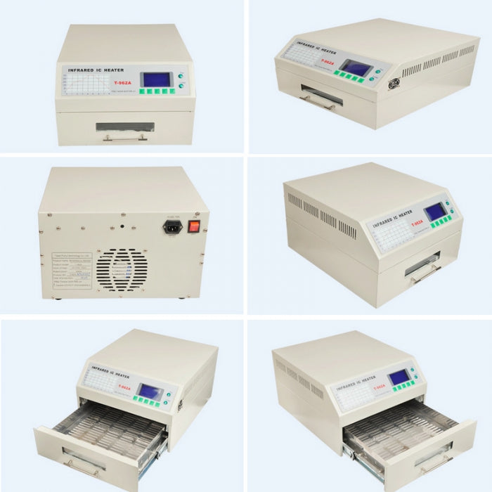 T962 A C Reflow Oven Infrared IC Heater SMD BGA Rework Station