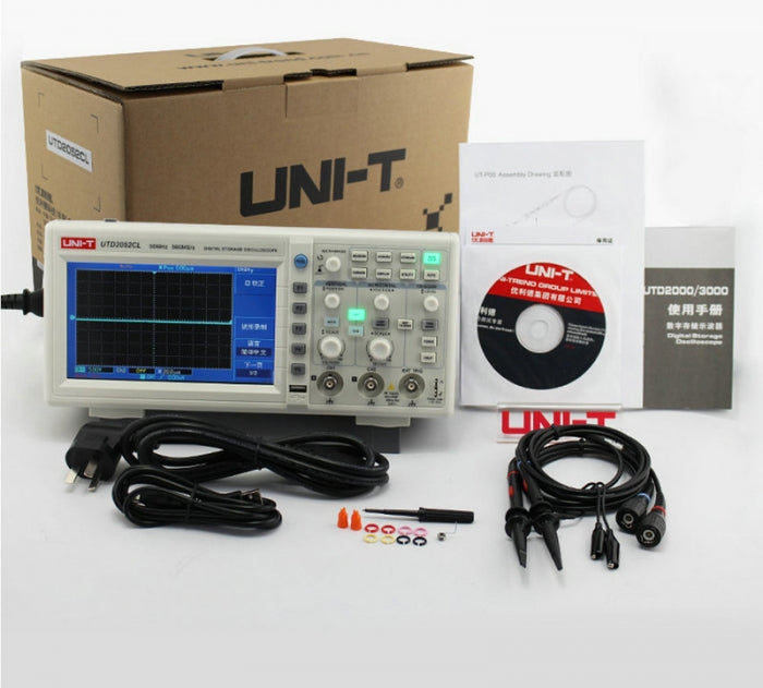 UNI-T UTD2025CL UTD2052 Desktop Digital Oscilloscopes 2 Channels
