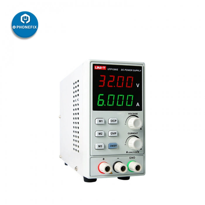 UNI-T UTP1306S 0-32V 0-6A DC Adjustable Linear Power Supply