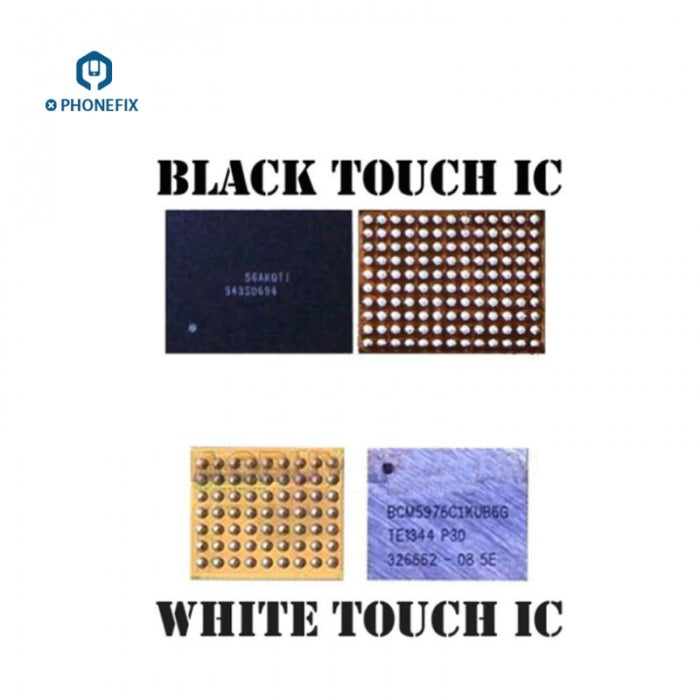 Touch Screen Control IC For iPhone 5S 6 7 8 X Touch IC - White Black