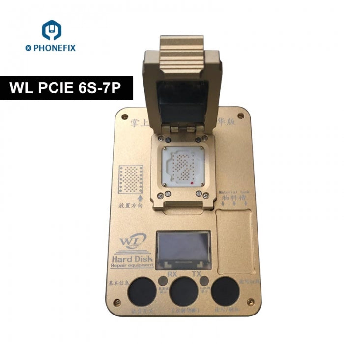 WL PCIE Iphone NAND Programmer for Iphone 6S 7 7P NAND Repair