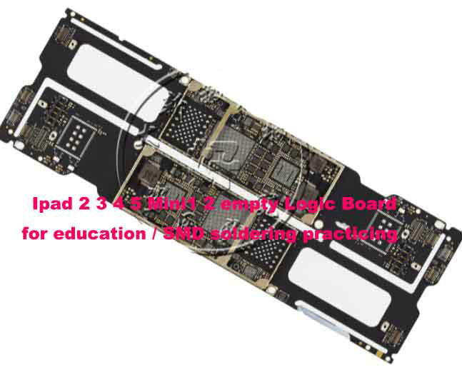 Bare PCB Circuit Board For iPad 456 Mini 123 Soldering Skill Training