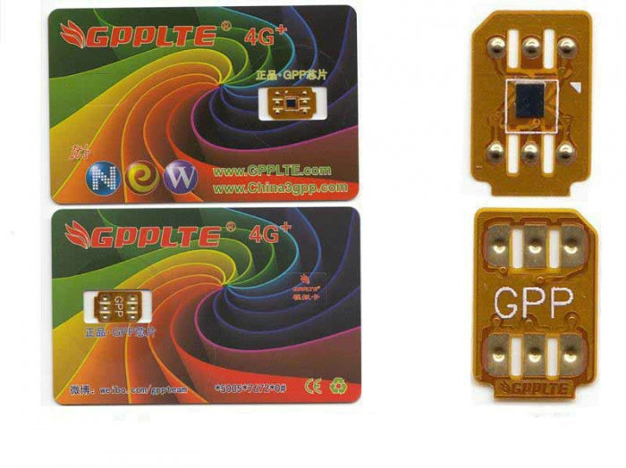 GPPLTE4G+ Pro Global Cloud Smart GPP Card For All Series iPhone