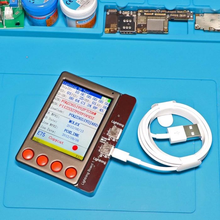 W28 Pro iphone Ipad Battery Capacity Performance Tester Tool
