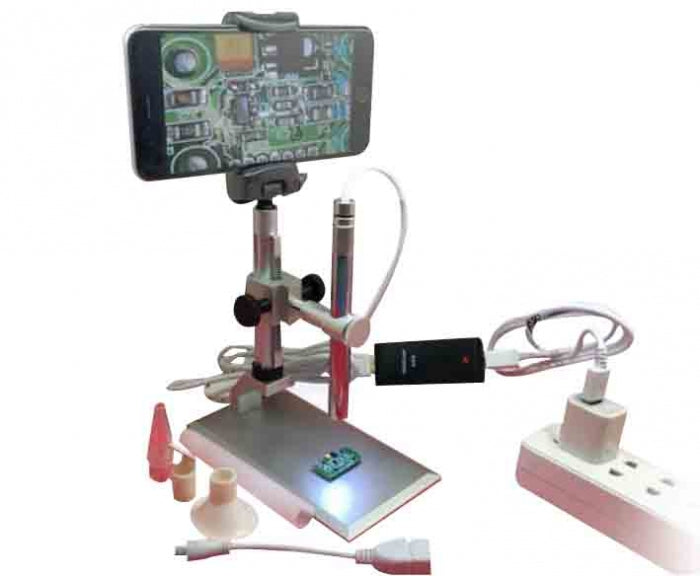 Muti-purpose WIFI microscope endoscope for PCB Inspection Repair