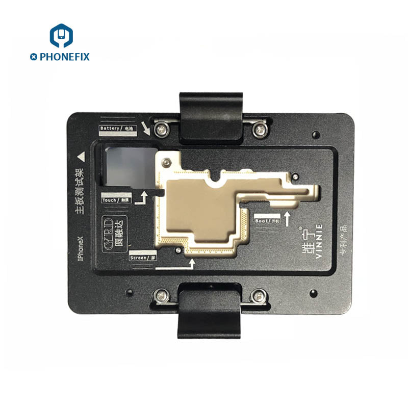 WL C11 iSocket Jig Double Layers Test Fixture for iPhone X Logic Board