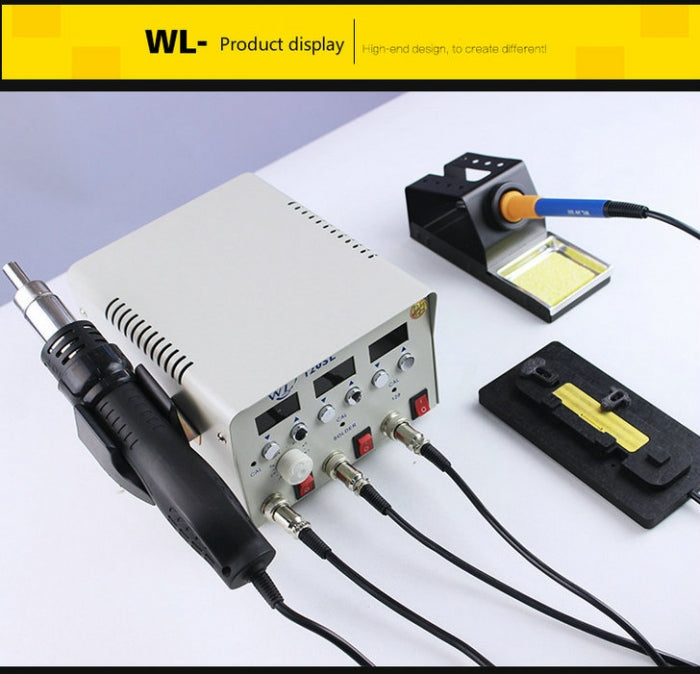 WL PPD120SL 3-IN-1 Hot Air Rework Station PCB Desoldering Station