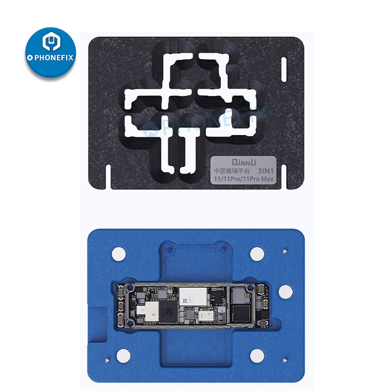 QianLi Middle Frame BGA Reballing Platform for iPhone 11 Pro XS Max