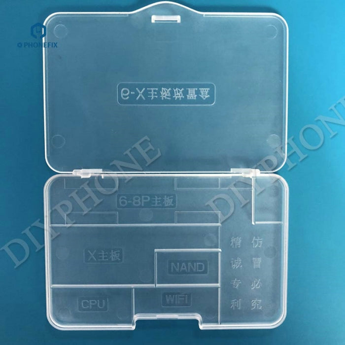 Plastic iPhone Motherboard Storage Protection Box for iPhone 6-X