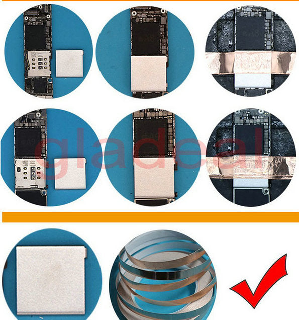 Phone Motherboard Shield Cover Replacement Parts For Iphone BGA CPU IC
