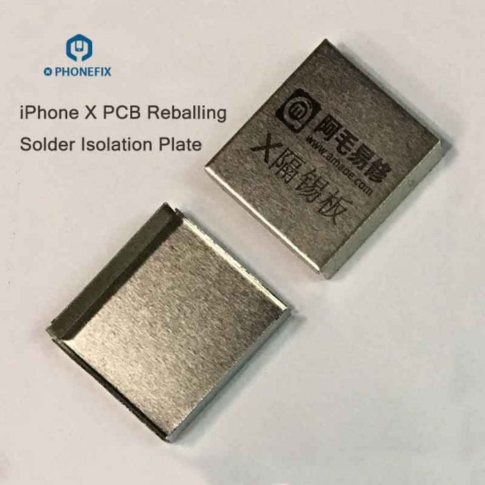 PCB Heat Resistant Solder Shielding Cover For IPhone X XS MAX
