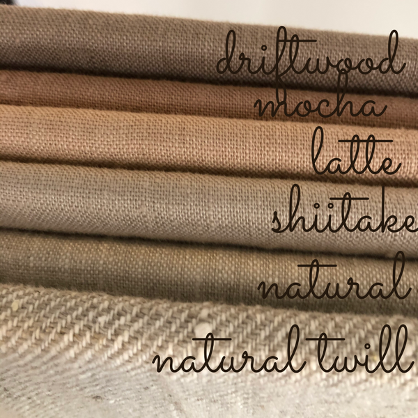 Shiitake Linen Table Runner