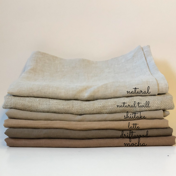 Driftwood Linen Table Runner