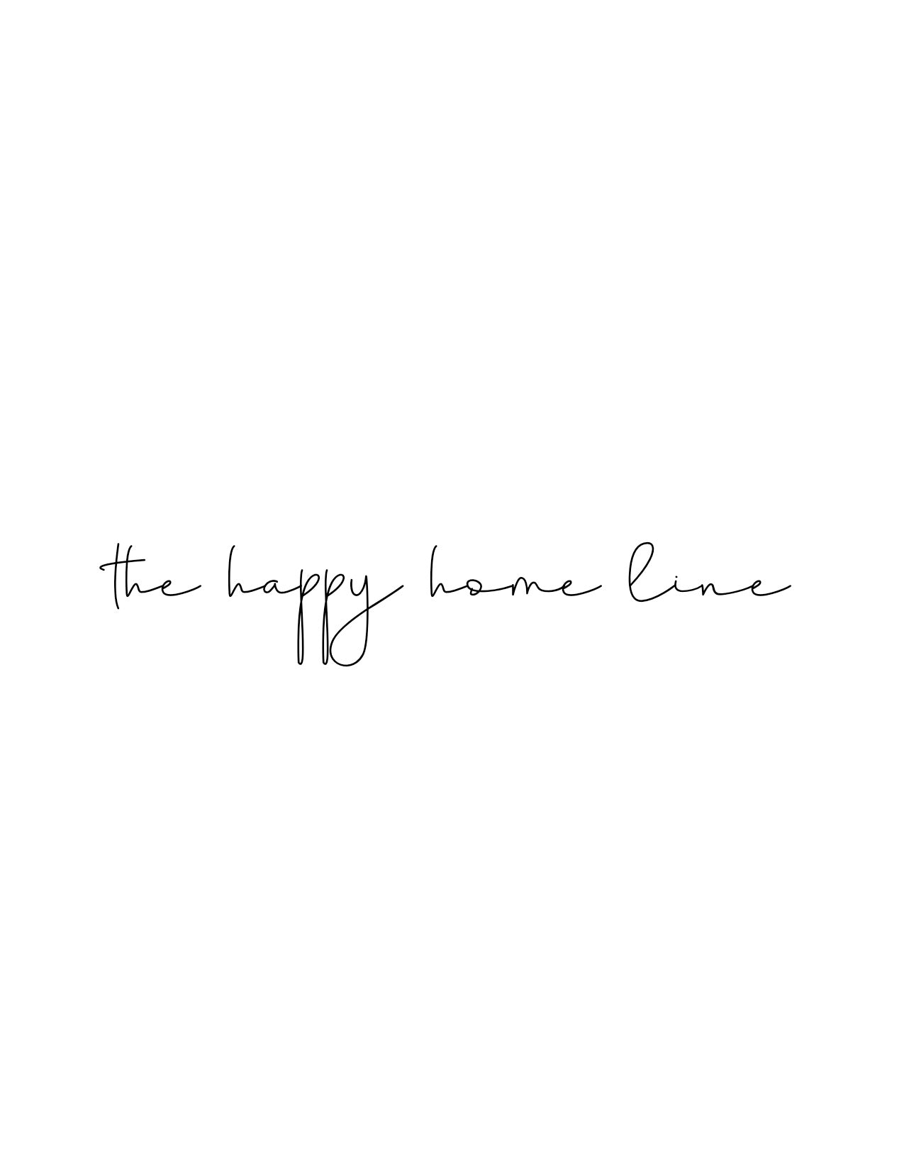 The Happy Home Line Gift Card