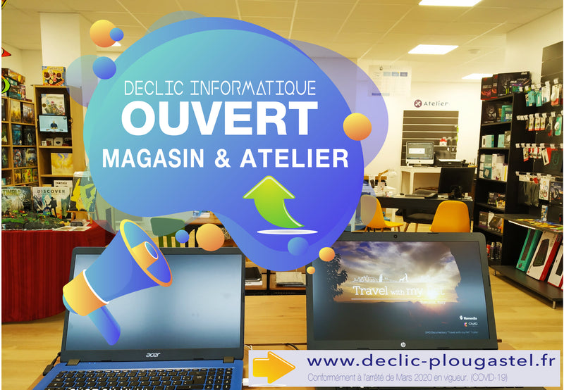 MAGASIN & ATELIER OUVERTS