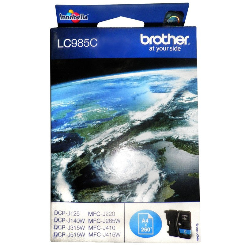 BROTHER LC985C CYAN - Declic Informatique