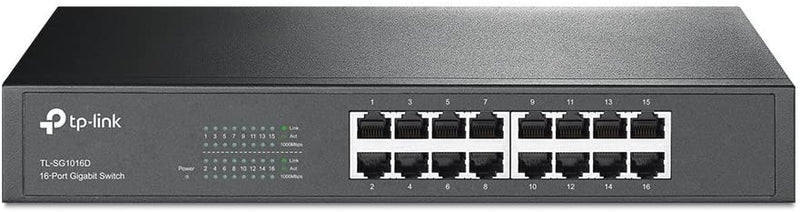 SWITCH ETHERNET TL-SG1016D 16 PORTS - Declic Informatique