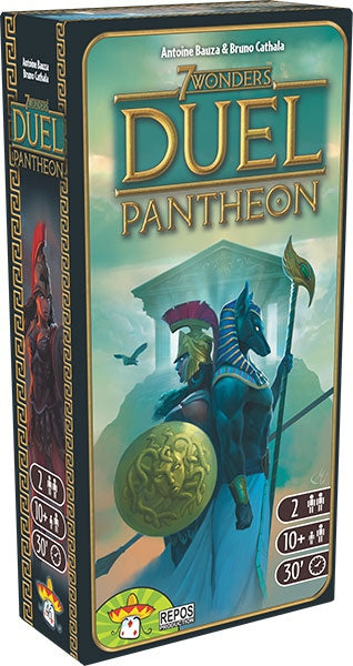 7 WONDERS DUEL EXTENSION PANTHEON - Declic Informatique