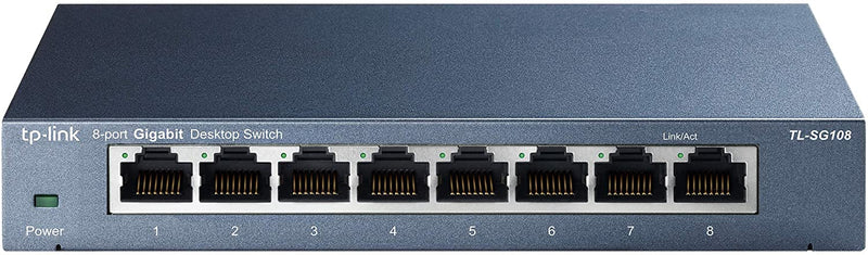 SWITCH ETHERNET TP-LINK TL-SG108 8 PORTS - Declic Informatique