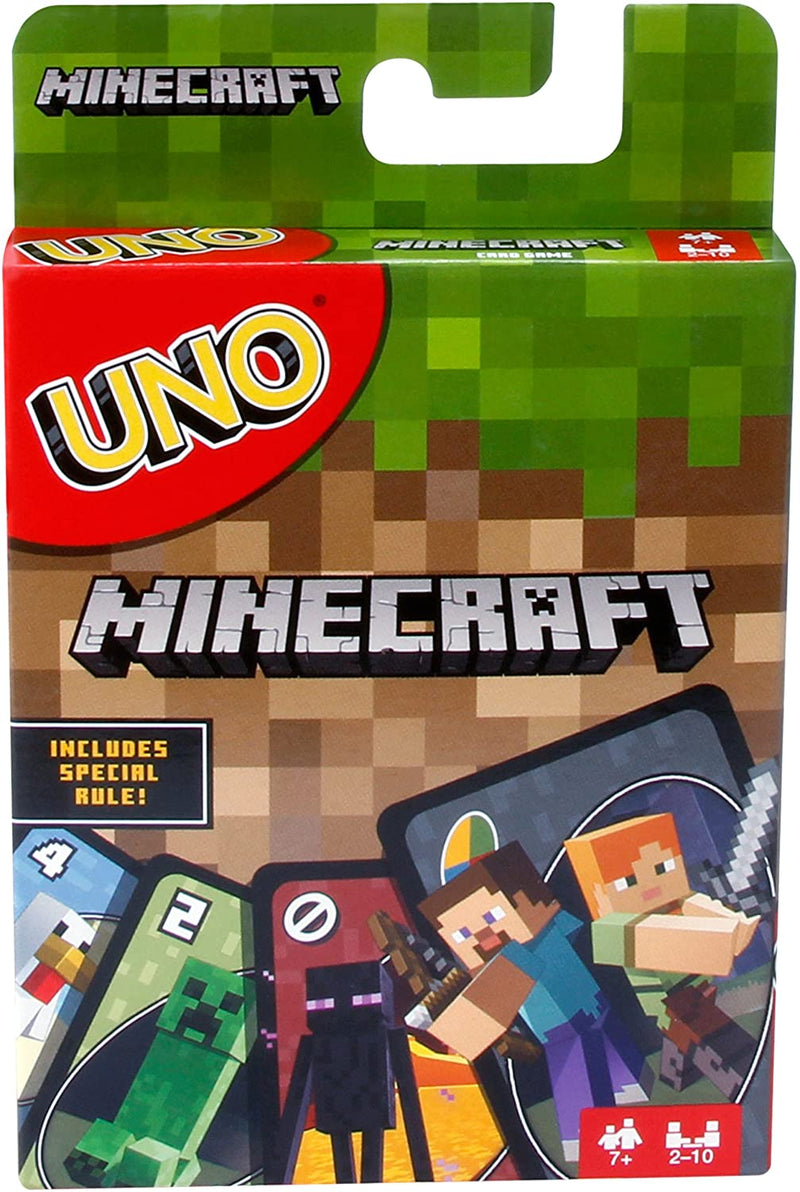 UNO MINECRAFT EDITION LIMITEE - Declic Informatique