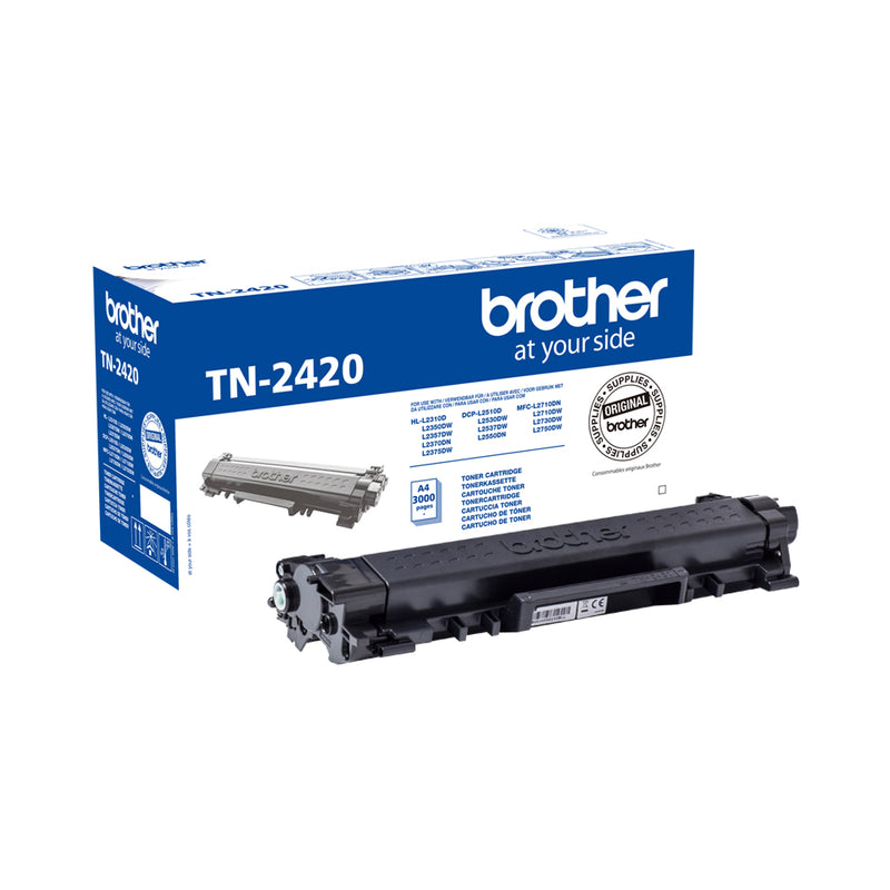 TONER BROTHER TN-2420 NOIR 3000P - Declic Informatique